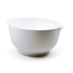 RSVP White Melamine 4 Quart Mixing Bowl
