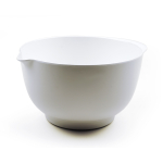 RSVP White Melamine 3 Quart Mixing Bowl