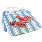 Norpro Cotton Seafood Lobster Bib, Set of 2