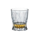 Riedel Tumbler Collection Crystal 10 Ounce Fire Whiskey Glass, Set of 2