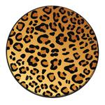 """Range Kleen 4 Piece """"In the Wild-Leopard"""" Round Burner Kover Set"""