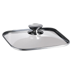 Berndes SignoCast Glass 10 x 10 Inch Cookware Lid with Stainless Steel Knob