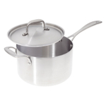 American Kitchen Premium Stainless Steel Covered 4 Quart Saucepan