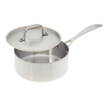 American Kitchen Premium Stainless Steel Covered 2 Quart Saucepan