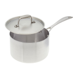 American Kitchen Premium Stainless Steel Covered 3 Quart Saucepan