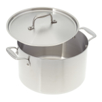 American Kitchen Premium Stainless Steel Covered 8 Quart Stock Pot