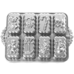 Nordic Ware Platinum Bakeware Holiday Mini Loaf Pan