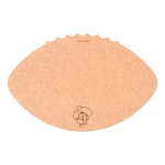 Epicurean Oklahoma State University 16 x 10.5 Inch Football Cutting and Serving Board