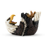 True Fabrications Elated Eagle Polyresin Animal Wine Bottle Holder
