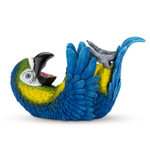 True Fabrications Parched Parrot Polyresin Animal Wine Bottle Holder