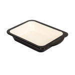 Baker & Salt Two-Tone Enamel 8.5 Inch Baking Dish