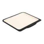 Baker & Salt Two-Tone Enamel 15.5 Inch Shallow Baking Tray