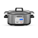 DeLonghi Livenza 6 Quart Slow Cooker with Stovetop Browning