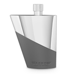 Final Touch AeroFlask Stainless Steel TSA Approved 3.4 Ounce Liquor Flask