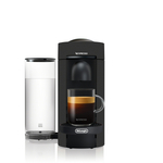 Nespresso VertuoPlus Limited Edition Black Matte Coffee and Espresso Machine by DeLonghi