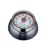 "Zassenhaus ""Retro"" Kitchen Timer in Carbon Gray"