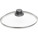 Woll 11.75 Inch Diamond Lite Round Glass Lid with Vented Knob