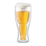 Final Touch Bottoms Up 15.2 Ounce Beer Glass