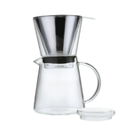 Zassenhaus Borosilicate Glass 25.5 Ounce Pour-Over Brewer