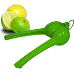 Lime Green Enamel Glazed Citrus Squeezer Juicer Lemon