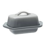 Chantal Fade Grey Ceramic 5 Inch Mini Butter Dish