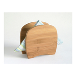 Lipper Bamboo Cloth Dinner Napkin Holder