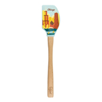 Tovolo Spatulart Limited Edition Tour Chicago Spatula with Wooden Handle
