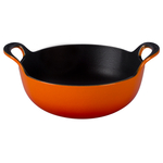 Le Creuset Flame Enameled Cast Iron 1.75 Quart Balti Dish