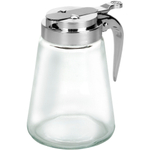 Anchor Hocking Glass Syrup Pitcher with Dispensing Lid