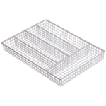 Progressive International White Flatware Caddy