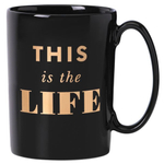 kate spade new york Simply Sparkling This is the Life 12 Ounce Coffee Mug