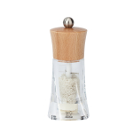 Peugeot Oléron Natural Acrylic and Beechwood 5.5 Inch Wet Salt Mill