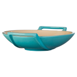 Le Creuset Caribbean Stoneware 28 Ounce Wok Dish
