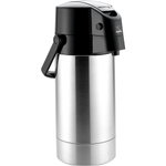 Zojirushi Stainless Steel Lever Air Pot Beverage Dispenser, 101 ounces