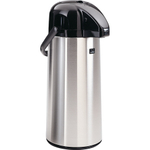 Zojirushi Air Pot Brushed Stainless Steel Beverage Dispenser, 74 Ounce