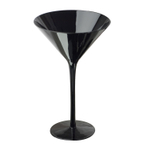 Artland Midnight Black 7 Ounce Martini Glass