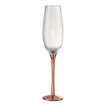 Artland Coppertino Copper Stemmed Glass 8 Ounce Flute
