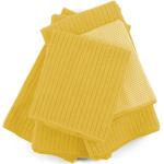 Yellow Microfiber 5 Piece Kitchen Towel Set