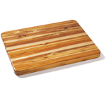Proteak Edge Grain 24 X 18 Inch Rectangular Hand-Grip Cutting Board