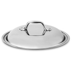 All-Clad 18/10 Stainless Steel Chef's Pan Domed Lid, 12.5 Inch