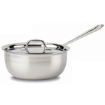All-Clad Stainless Steel Saucier With Lid, 3 Quart