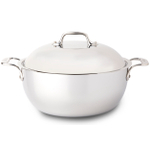 All-Clad Stainless Steel Dutch Oven with Domed Lid, 5.5 Quart