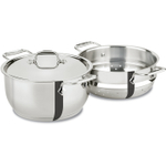 All-Clad Stainless Steel Multi-Pot with Steamer Insert, 5 Quart