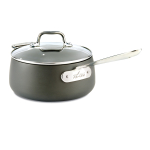 All Clad Hard Anodized Nonstick 3.5 Quart Sauce Pan
