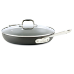 All Clad Hard Anodized Nonstick 12 Inch Fry Pan with Lid