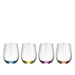 Riedel Crystaline Optical Happy O Multi-Color Tumbler Collection
