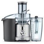 Breville The Juice Fountain 70 Ounce Cold Electric Juicer with Anchor Hocking Glass Carafe