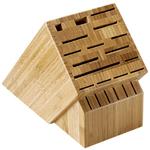 Shun Bamboo 22-Slot Cutlery Block