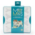 Messy Mutts Blue Silicone 8 Large Bone Bake and Freeze Bone Shaped Treat Maker