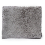 Messy Mutts Grey Microfiber Ultra Soft Towel with Hand Pockets